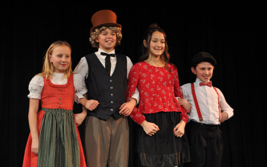 Elementary students bring Doctor Dolittle to life with a musical production