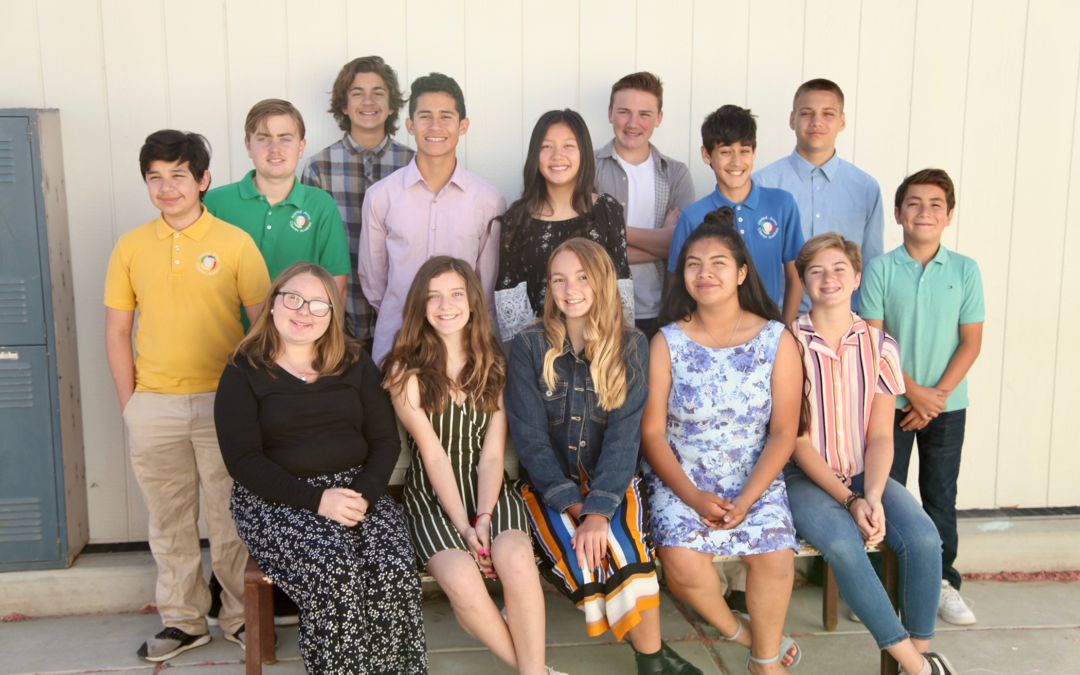 Almond Acres Academy celebrates eighth grade promotion