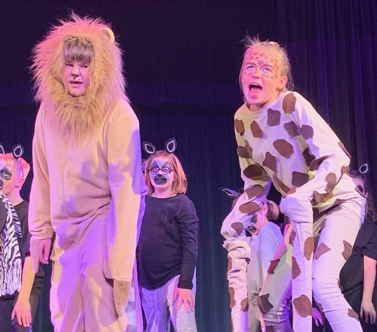 Almond Acres performs the musical, 'Madagascar Junior'