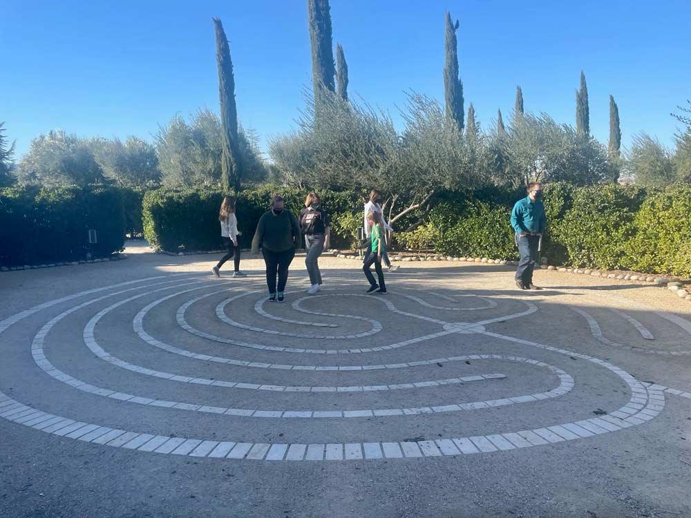 Allegretto Hotel labyrinth